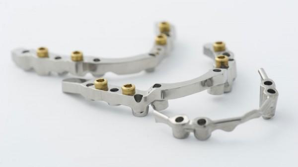 Exemple d'implantologie prothèse dentaire - laboratoire BIESSE.